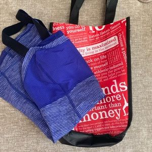 LULULEMON TANK WITH BAG